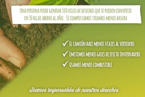 El Chaltén lanzó campaña para incentivar el compostaje domiciliario
