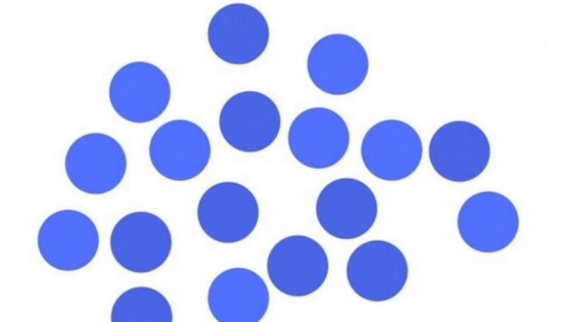 Test visual: cuántos círculos del mismo color ves en la imagen