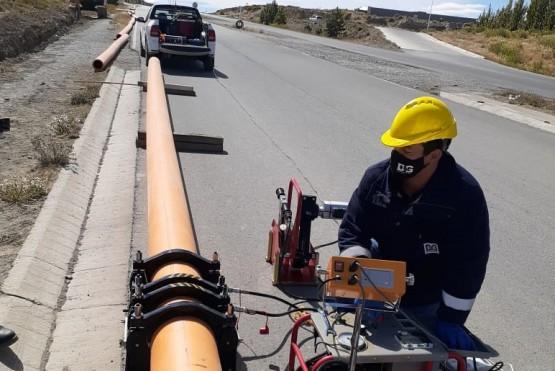 Gas para más de 200 familias en El Calafate.