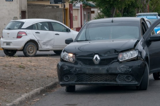 Los rodados presentaron algunos daños. (Foto: L.F.)