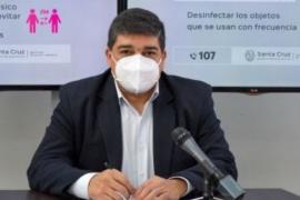 """Claudio García habló de la """"segunda ola"""" de casos y la vuelta a clases en Santa Cruz"""