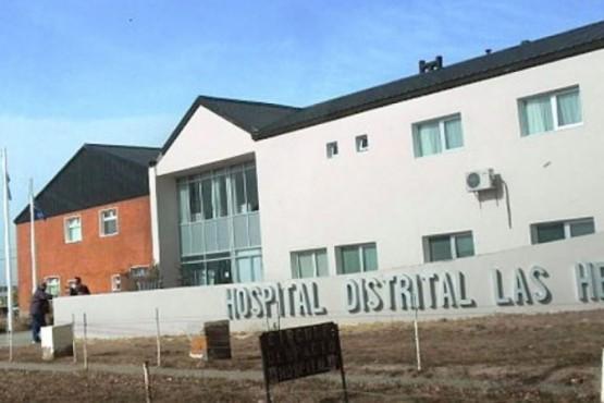 El hombre fue asistido en el Hospital de Las Heras.