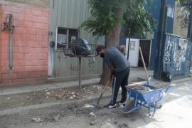 Se retomó los operativos de limpieza en Caleta Olivia