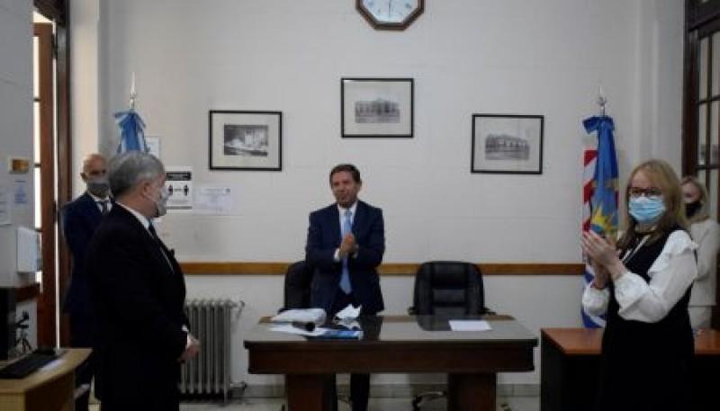 Alicia Kirchner acompañó la jura del nuevo Juez Federal del Juzgado Primera Instancia de Río Gallegos