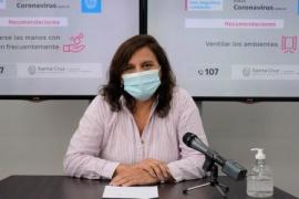 """Basualdo: """"Mañana continuará la entrega de vacunas a Gregores, Perito y Los Antiguos"""""""
