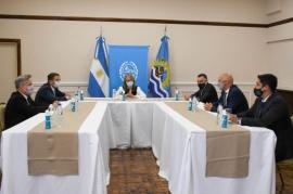 Alicia Kirchner se reunió con jueces federales tras la jura de Vázquez