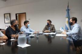 Reuniones en la Capital Federal del Intendente Pablo Grasso