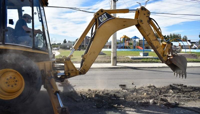 Municipio avanza en distintas tareas por toda la ciudad