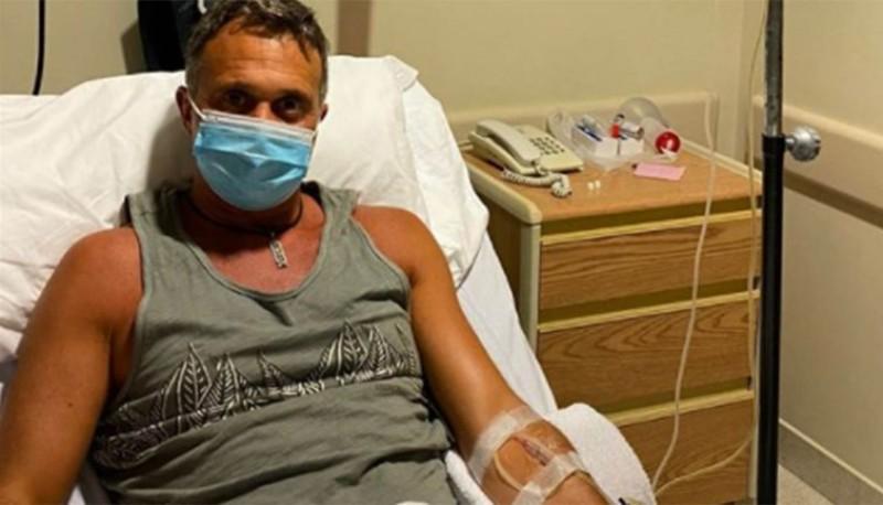 Sergio Lapegüe internado por coronavirus.