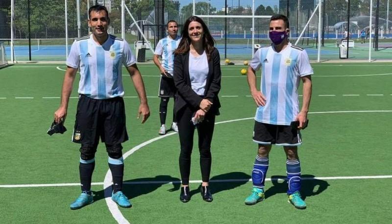David vuelve a la Selección Argentina.