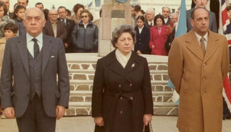 En 1982 presidió el Comité de Defensa Civil en la ciudad, propiciando acciones durante los meses que se extendió la Guerra de las Malvinas