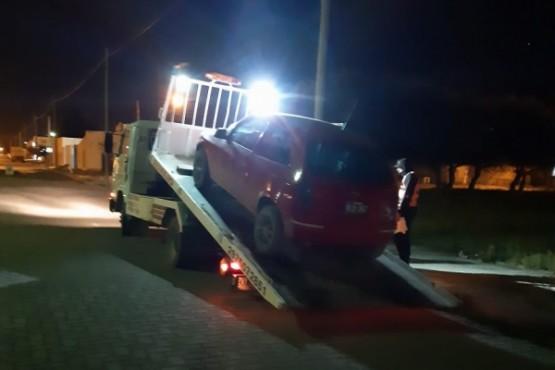 Le secuestraron el auto por alcoholemia: 1.85 indicó el test