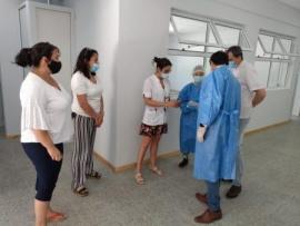 Continúan las acciones sanitarias por COVID19 en todo el territorio provincial