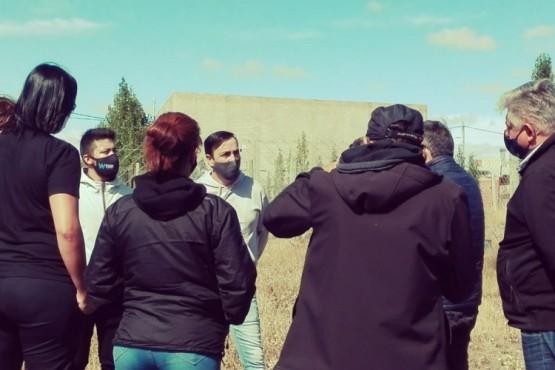 Pablo Grasso se reunió con vecinos del barrio Virgen del Valle, Los Alerces y Los Álamos