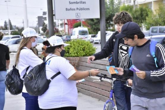 Salud realiza Campaña de Prevención del Consumo Problemático de Sustancias en Puerto Madryn