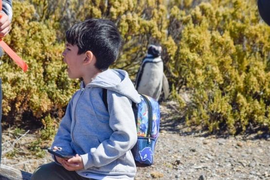 Partió un nuevo grupo de vecinos con destino a Cabo Vírgenes