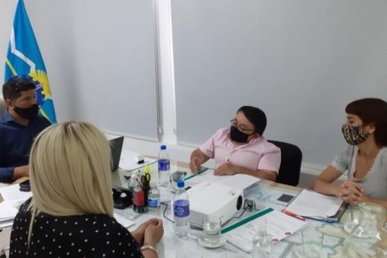 Desarrollo Social concretó encuentros con Gaiman y 28 de Julio por el Servicio de Protección de Derechos