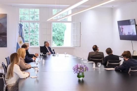 La reunión del Presidente.