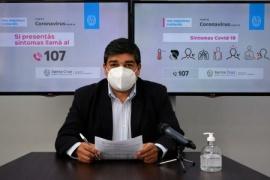 """García: """"Hasta el momento se aplicaron cinco mil cuatrocientas dosis en la provincia"""""""