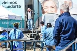 """El hisopado intensivo """"es una metodología innovadora"""" en Ushuaia"""