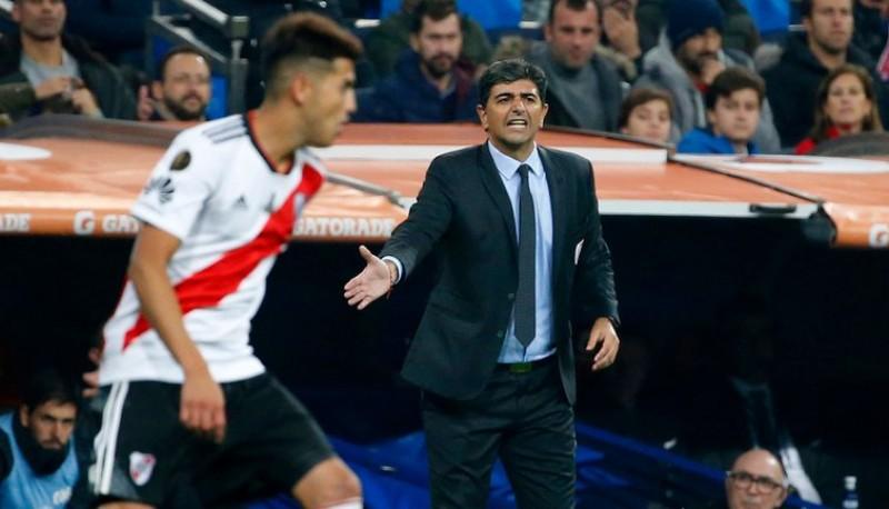 Matías Biscay dirigió la final en Madrid en 2018.