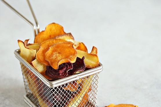 Cómo hacer chips de verdura