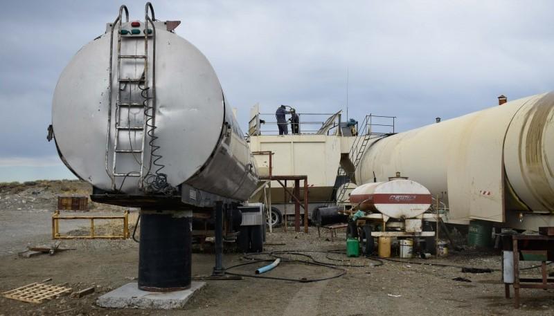 Planta de asfalto producirá hasta 60 toneladas diarias en Río Gallegos