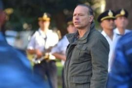 Sergio Berni habló sobre los policías desafectados