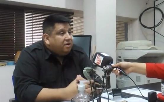 Comisario González.