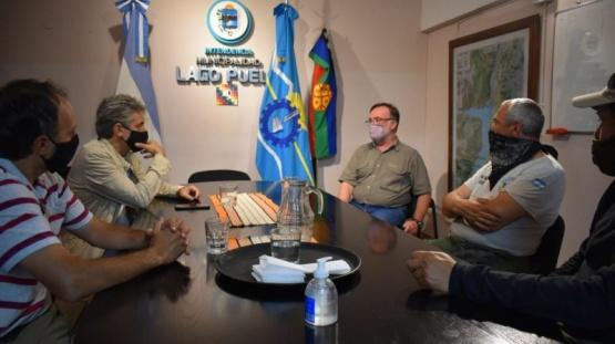 Reunión del municipio.