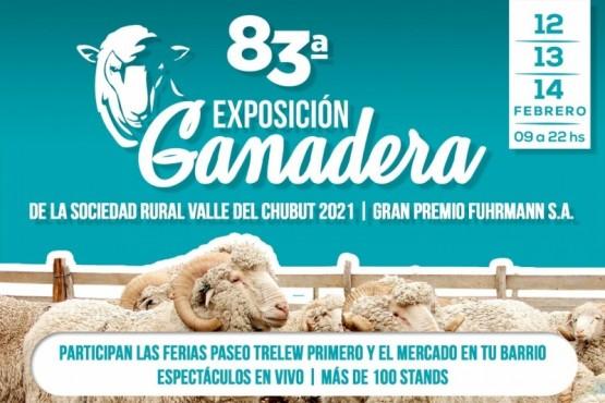 Se viene la 83ª Exposición Ganadera en Trelew