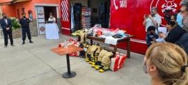 Se entregó equipamiento a Bomberos de la Policía de Santa Cruz