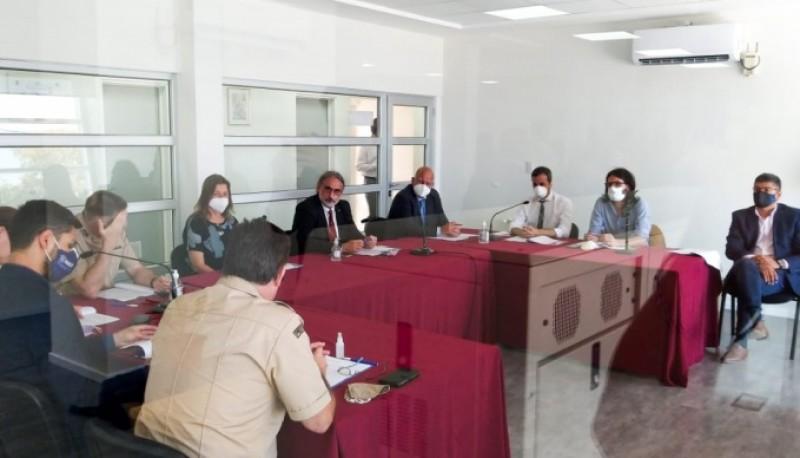 Chubut participó de una mesa de trabajo sobre control de la pesca ilegal