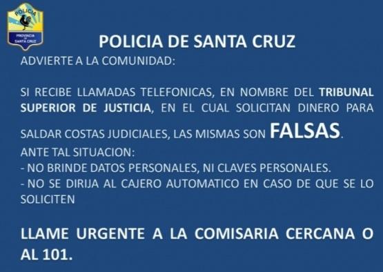 Recomendaciones otorgadas por la policía.