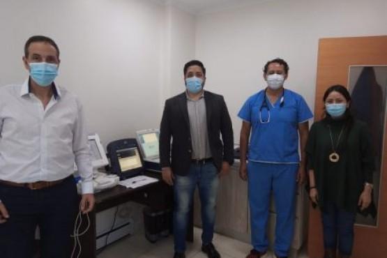 Exitosas jornadas de control cardiológico para afiliados de la Caja de Servicios Sociales