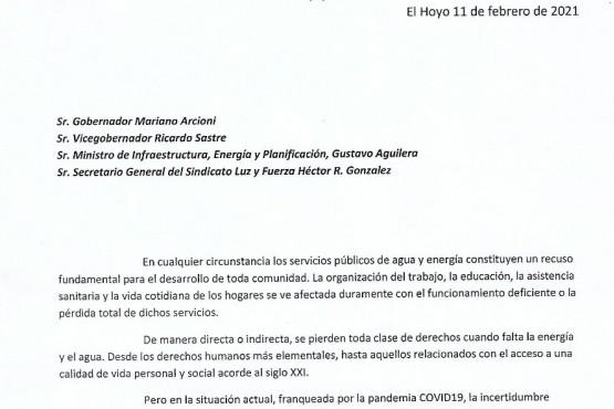 Intendentes piden respuestas a la provincia por los derechos de los Servicios Públicos