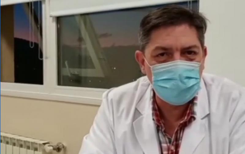 Dr. Osvaldo Cordano, director ejecutivo SAMIC Calafate
