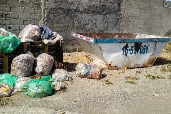 Han recibido el compromiso de que será removida la basura