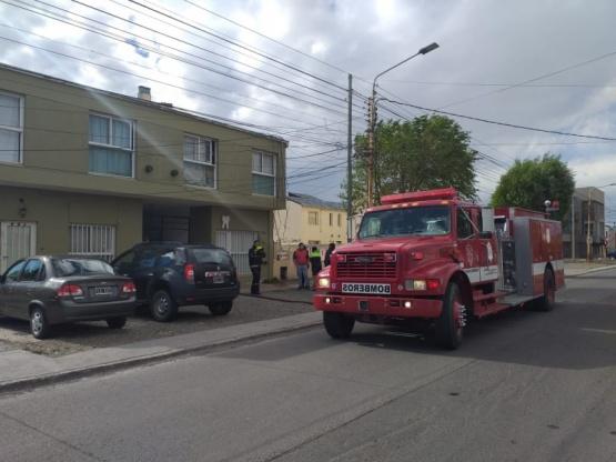 Incendio en un departamento: no hubo heridos