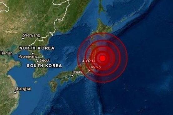 Fuerte terremoto de 7,3 grados sacudió Japón