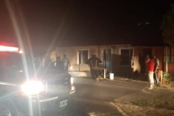 A mujer oriunda de Río Gallegos se le prendió fuego la casa en Rawson