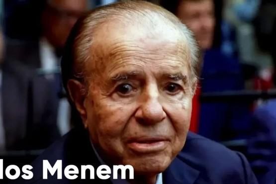 Quién reemplazará a Carlos Menem en el Senado