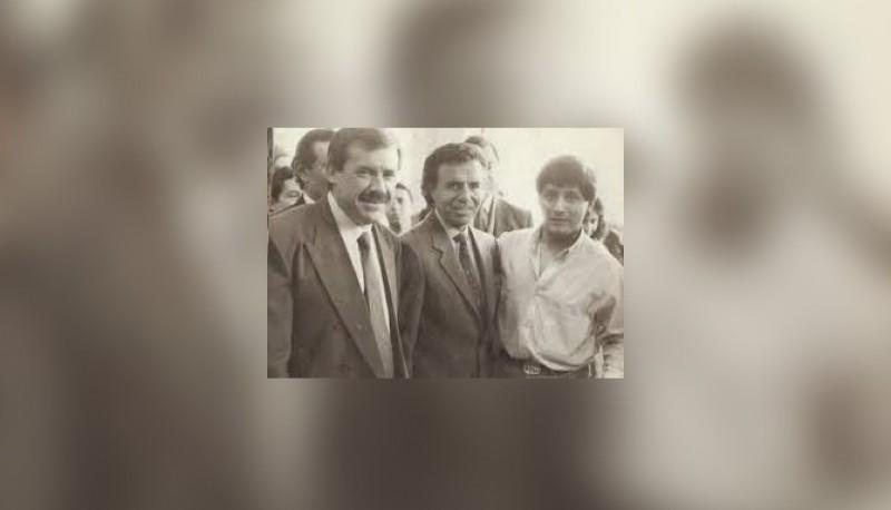 El recuerdo de Carlos Menem cuando llegó a Trelew por la inundación de abril del 88