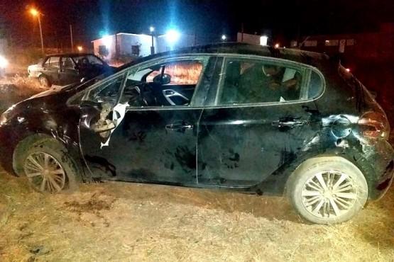 Río Gallegos | Hospitalizado tras volcar con su auto en Virgen del Valle