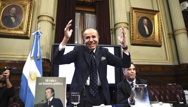 Menem fue presidente argentino entre 1989 y 1999.