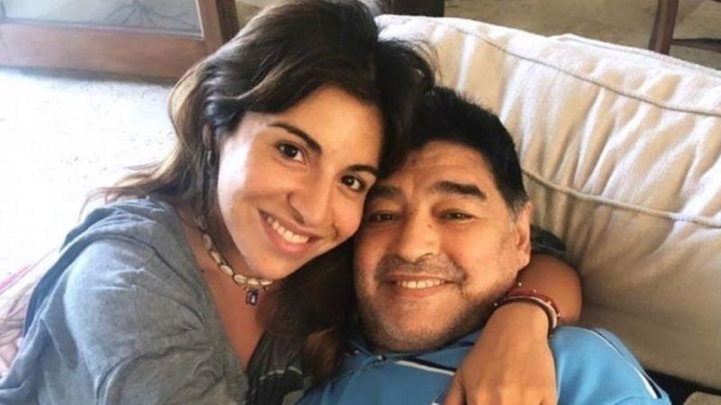 Gianinna y su padre.