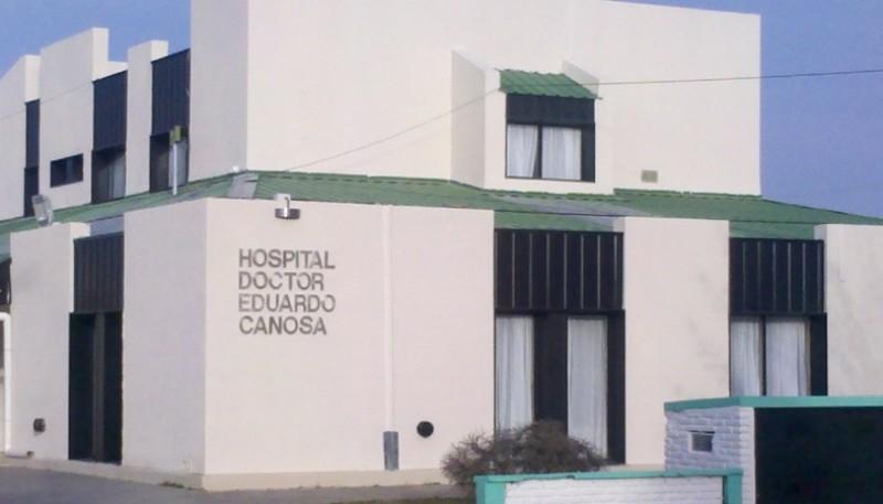 El hombre estuvo varias horas internado en el Hospital de Puerto Santa Cruz.