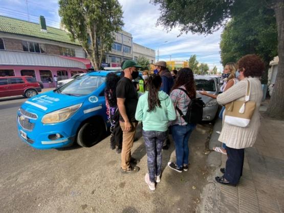 Tránsito Municipal interrumpió y controló en evento en el centro de la ciudad
