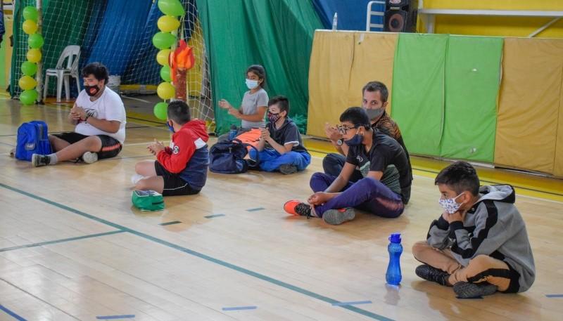 Colonias lúdico deportivas y la experiencia de trabajar en pandemia en Río Gallegos
