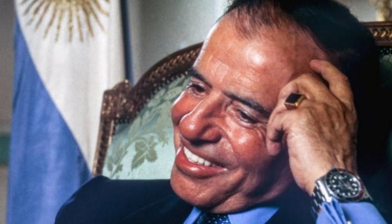 Carlos Saúl Menem.